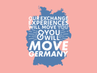 Move Germany Typography