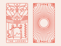 Tarot Deco - The Lovers