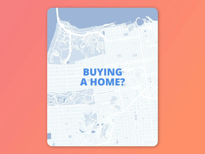 Map Filter & Selection aftereffects selection filter animation san francisco geography map motion house homes