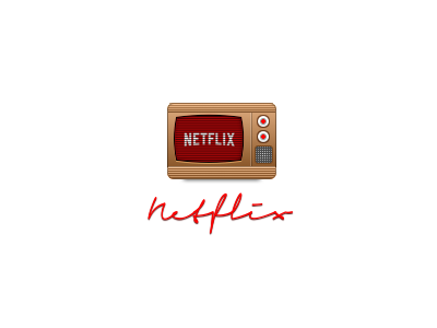 Netflix pixel icon netflix