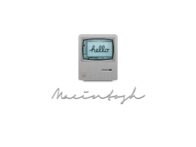 Macintosh icon pixel macintosh