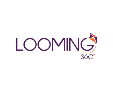 Looming 360 logo logo designer business logo logo design branding vector icon design branding logo design logo