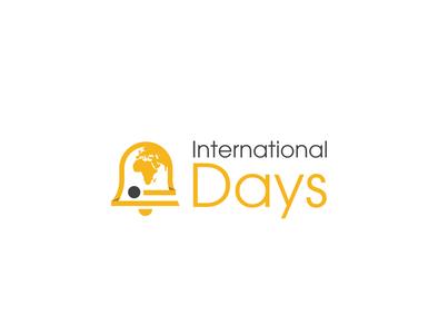 International Days vector icon design branding logo design logo