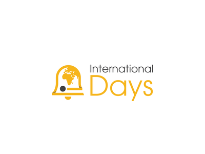 International Days vector icon design branding logo design logo