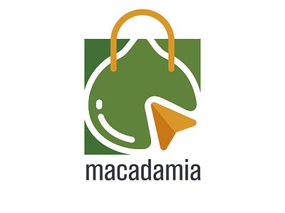 macadamia logo logo designer business logo logo design branding icon vector design branding logo design logo