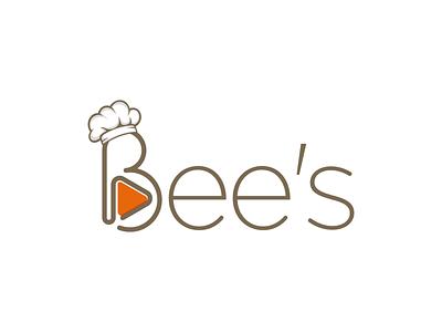 Bee's logo logo design branding vector icon design logo design logo branding