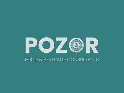 POZOR logo logo design branding vector icon design logo design logo branding