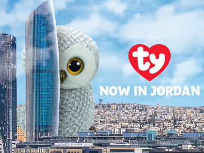 TY in Jordan graphic design creative branding ty poster