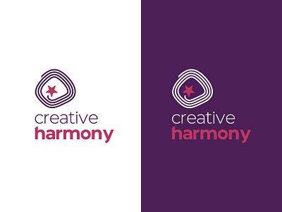 Creative Harmony art creative icon logo design design logo branding