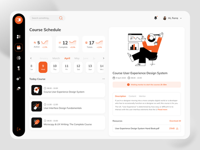 Courses Desktop Platform desktop platform learning courses ux ui clean fireart studio fireart