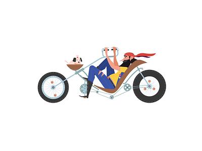 Tour De Freelance collaboration bike de france tour animation illustration fireart studio fireart