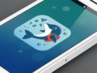 Dribble app icon phone