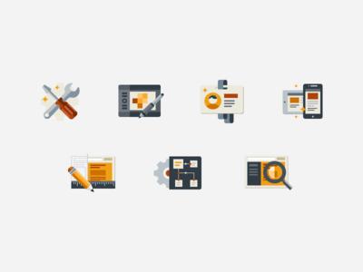 Fireart Produсts Icons