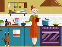 Kitchen Illustration