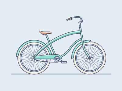 Bicycle wheel details outline bicycle flat fireart studio fireart