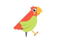 Pirate Parrot Eugene