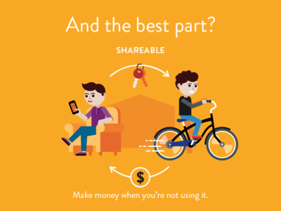 Share your bike keys orange mobile money sharing bike flat fireart studio fireart