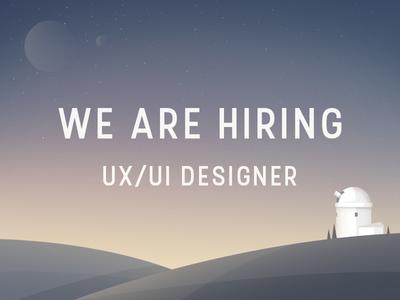 Hiring Middle UX/UI Designer! warsaw vacancy job opening designer ux ui hiring fireart studio fireart