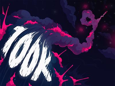 100k followers design studio art graphic design illustration fireart studio fireart