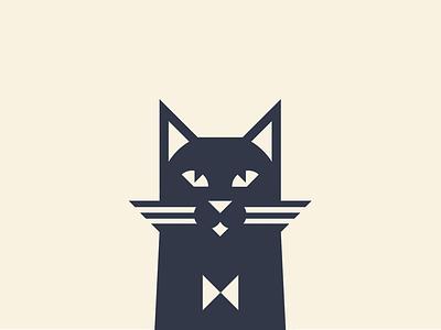 Another cat geometric illustration cat logo