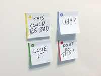 Super useful Post-it notes
