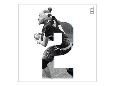Joe Johnston is Diverse 2 flag football xffl sports graphics sports design social media photoshop mhdesigns
