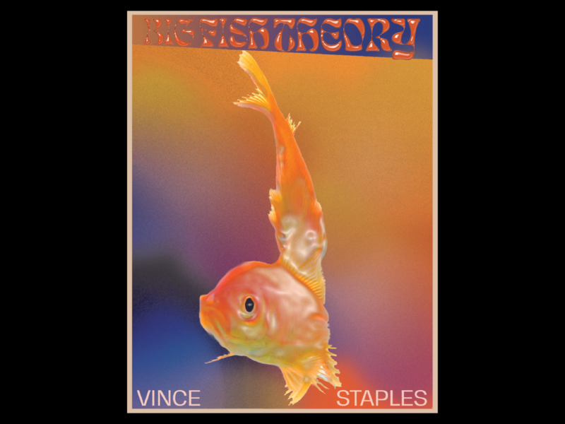 Vince Staples Big Fish Theory Poster Concept