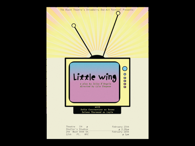Little Wing Theater Poster