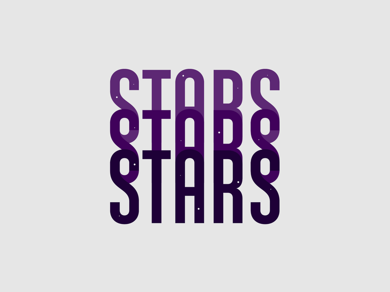 Stars*3 logo branding vector typeface typedesign ando lettering typography font type
