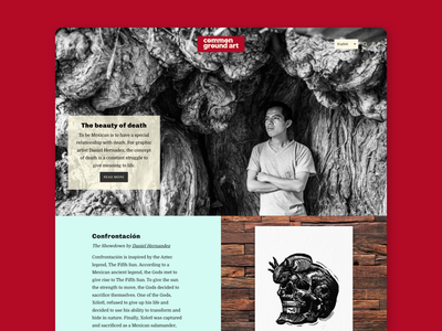 Common Ground Art illustration branding design newsletter articles photography exhibition print graphic design artists art ground common