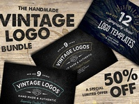 50% Off - Vintage Logo Bundle