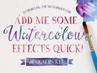 Watercolour Photoshop Effects