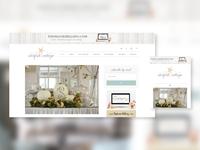 Genesis WordPress blog design