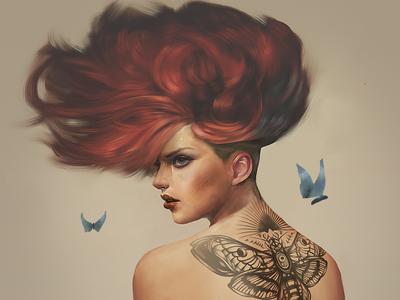 Tattoo Girl 800