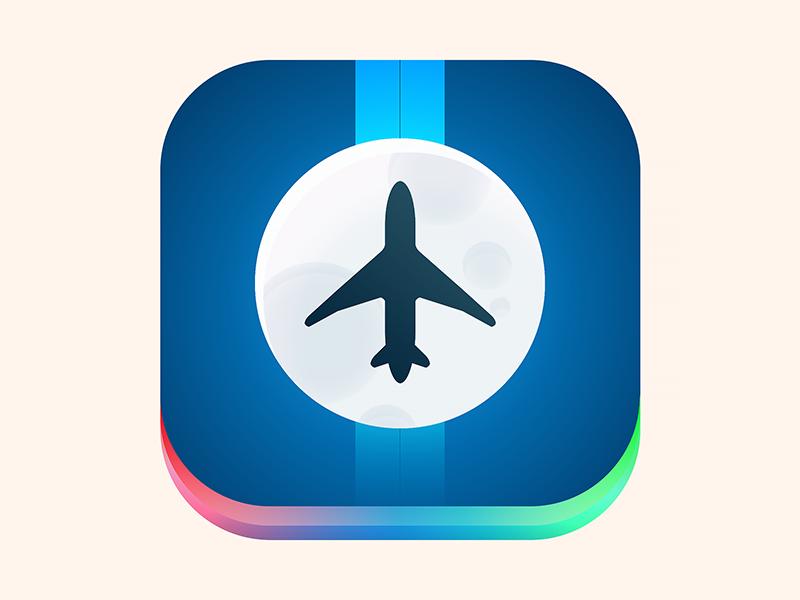 App Icon (flight App) By Martin Baldowski