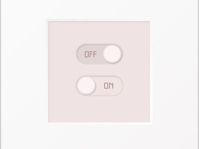 on/off switch -- daily ui 015