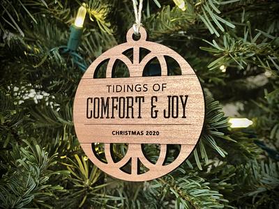 2020 Christmas Ornament lasercut ornament