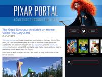 Pixar Portal Overhaul