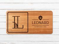 Leonard Family Sign