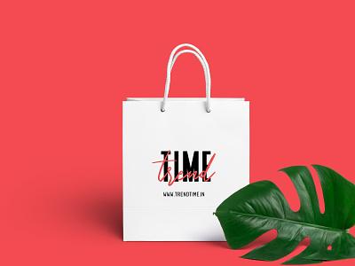 Bag Design for Trendtime.in illustration bagdesign brandind