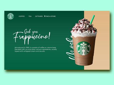 starbucks web design ui
