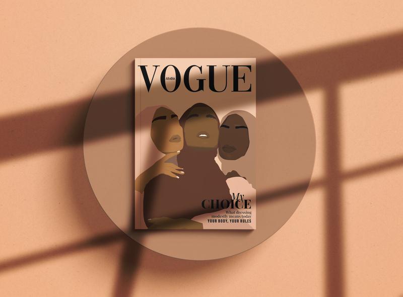 The Power of Choice fashion feminism vectorillustration vogue fashionmagazine illustration vectorart illustration art flatdesign