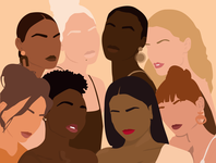 Women's Day feminine design feminist illustration feminist art feminist feminism graphicdesign vectorart illustration art flatdesign