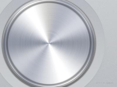 A big button button ui icon silver texture