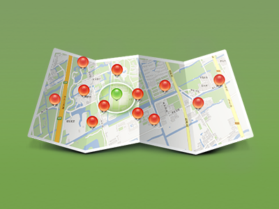 Nearby map nearby icon navigation