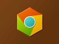 Chrome icon ui chrome logo less