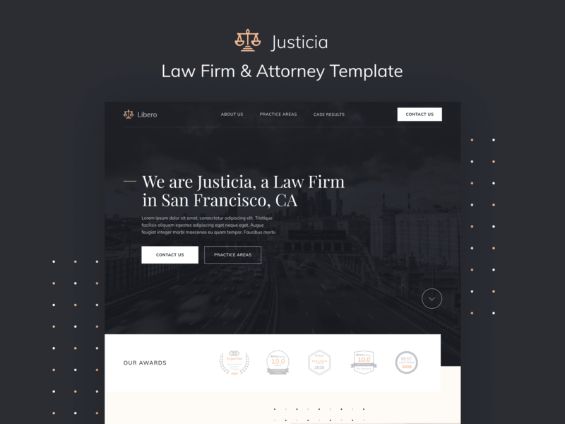 Justicia - Law Firm & Attorney Webflow Template advocate law firm legal adviser justice legal law lawyers attorneys lawyer attorney home web landing webdesign website homepage landingpage landing page web design webflow