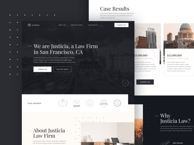 Web Design | Justicia - Law Firm & Lawyer Webflow Template advocate law firm legal adviser justice legal law lawyers attorneys lawyer attorney home web landing webdesign website homepage landingpage landing page web design webflow