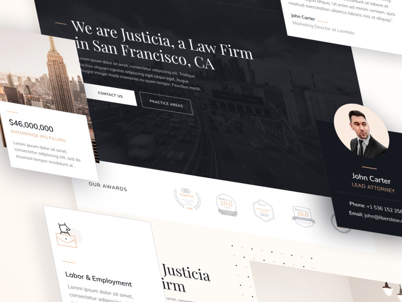 UI Elements | Justicia - Legal Webflow Template advocate law firm legal adviser justice legal law lawyers attorneys lawyer attorney uiux cards user experience ux ux design ui design userinterface user interface ui webflow