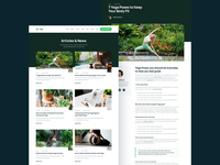 Blog & Blog Post | Yogi - Yoga Practice Webflow Template home web landing webdesign website homepage landingpage landing page web design webflow coach plant plants green health gym wellness fitness yoga